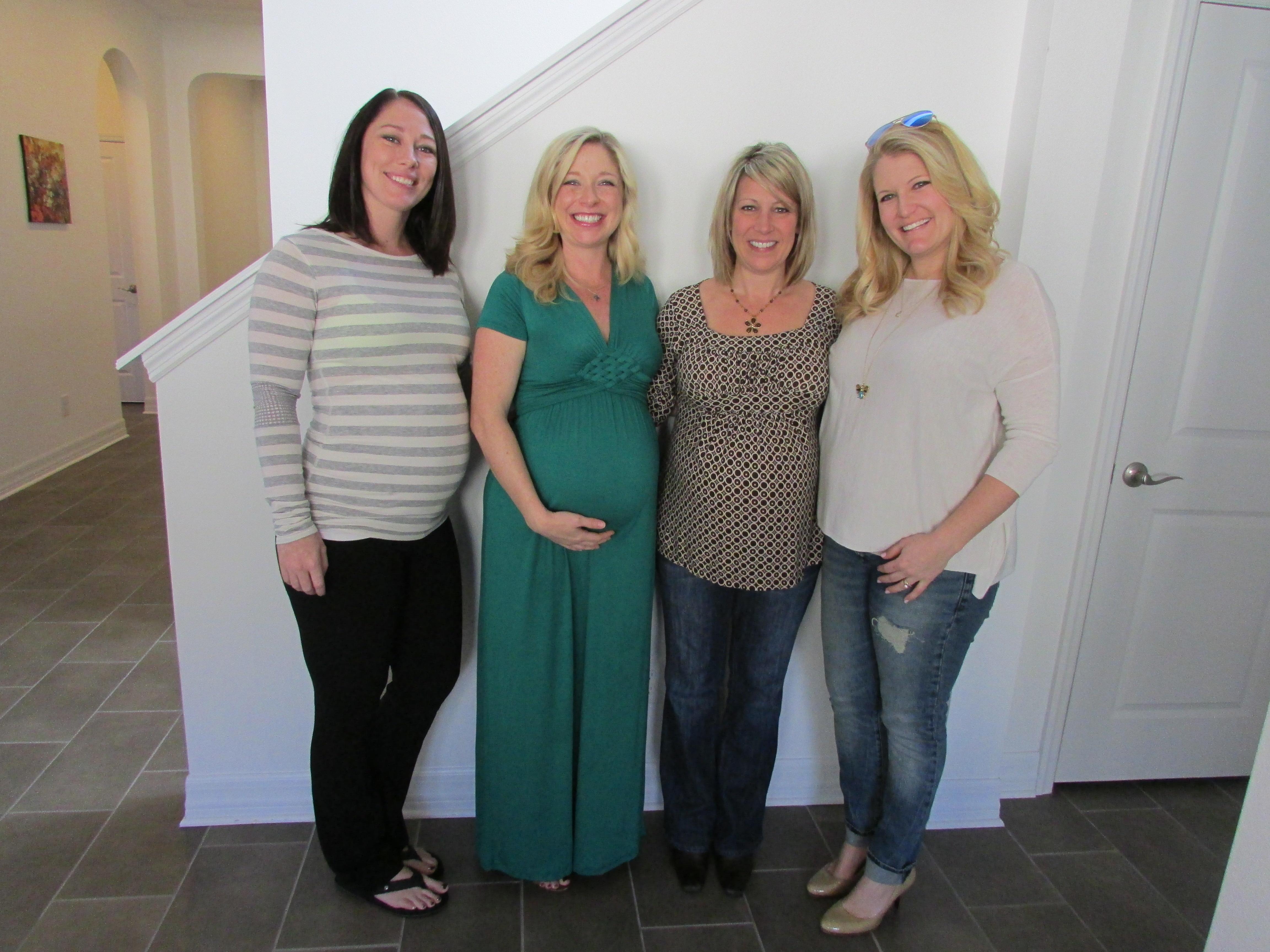 pregnant friends